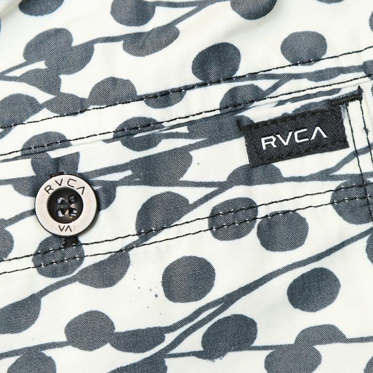 """[クリックポスト対応] RVCA ルーカ TOM GERRARD DOTS 17"""" TRUNK ボードショーツ M167TRGE"""