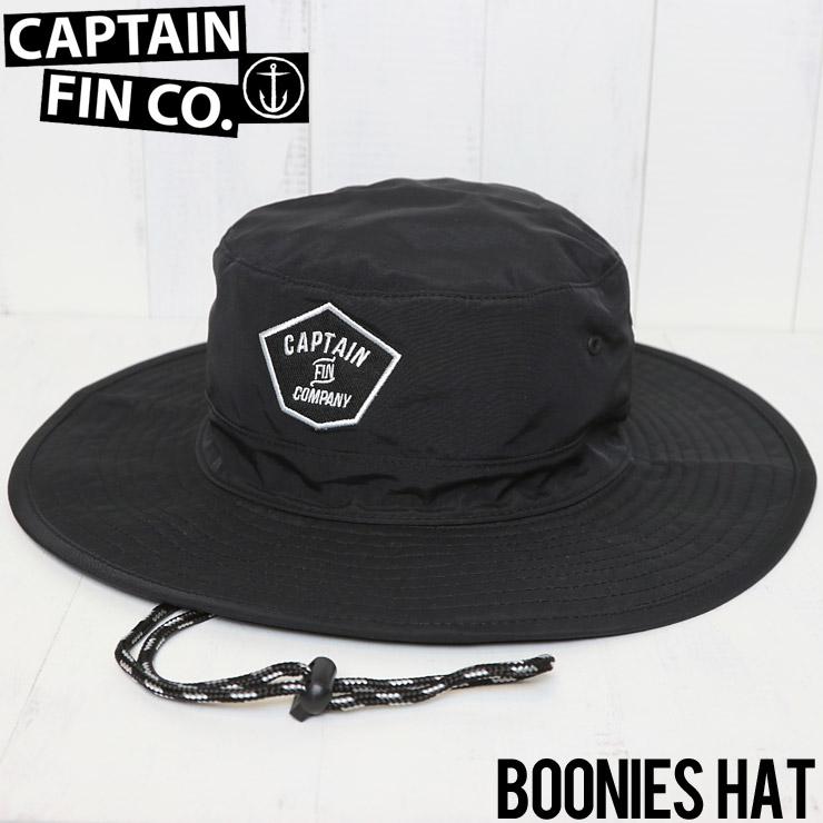 [クリックポスト対応] CAPTAIN FIN キャプテンフィン BOONIES HAT サーフハット CH191009 BLACK