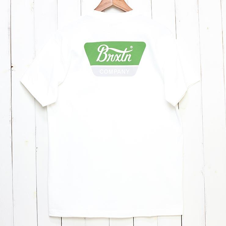 [クリックポスト対応] BRIXTON ブリクストン LINWOOD S/S TEE 半袖Tシャツ 半袖TEE 16172