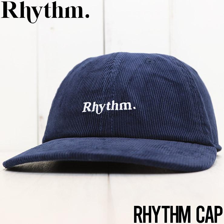 【送料無料】 Rhythm リズム RHYTHM CAP ストラップバックキャップ 0421M-HW01