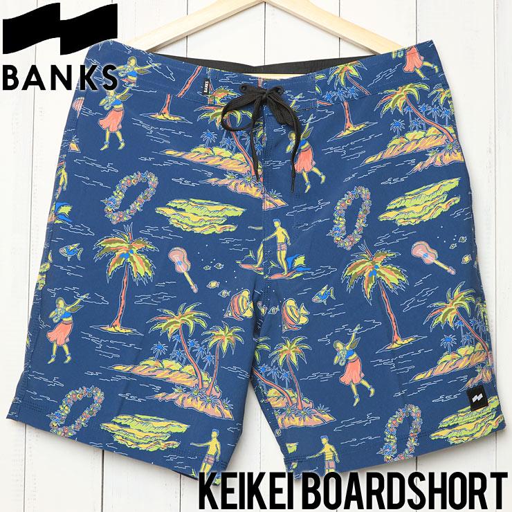 [クリックポスト対応] BANKS バンクス KEIKEI BOARDSHORT ボードショーツ BS0164