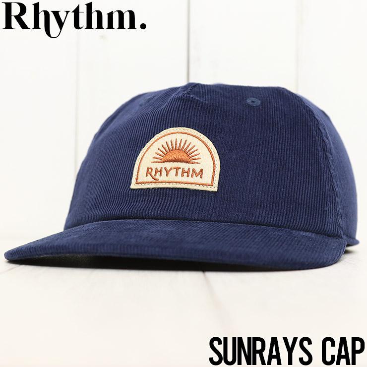【送料無料】 Rhythm リズム SUNRAYS CAP ストラップバックキャップ 0421M-HW02