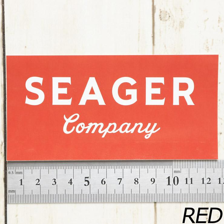 [クリックポスト対応] SEAGER シーガー STICKER ステッカー