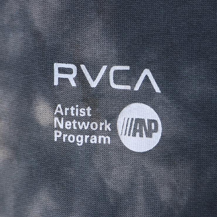 RVCA ルーカ ANP TIE-DYE PULLOVER HOODIE プルオーバーパーカー フーディ AVYFT00120