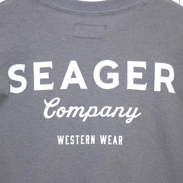 【送料無料】 SEAGER シーガー SEAGER WORKWEAR L/S TEE ロングスリーブTEE ロンT