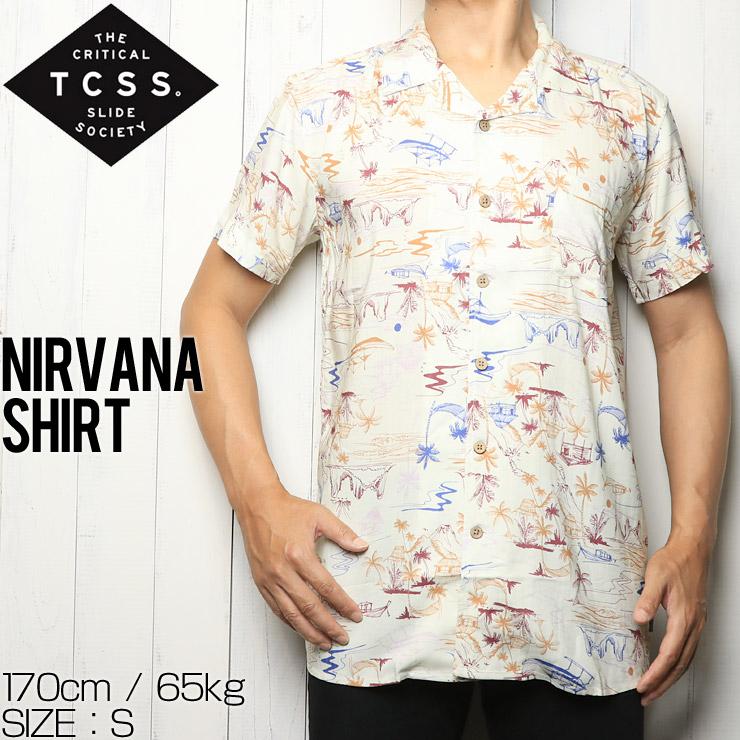 [クリックポスト対応] TCSS ティーシーエスエス NIRVANA S/S SHIRT 半袖シャツ SS1855