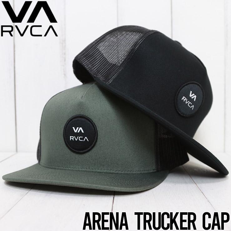 【送料無料】 RVCA ルーカ ARENA TRUCKER CAP メッシュキャップ MAHW3RAT