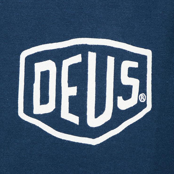 Deus Ex Machina デウスエクスマキナ SHIELD CREW スウェットトレーナー クルーネック DMA48259E
