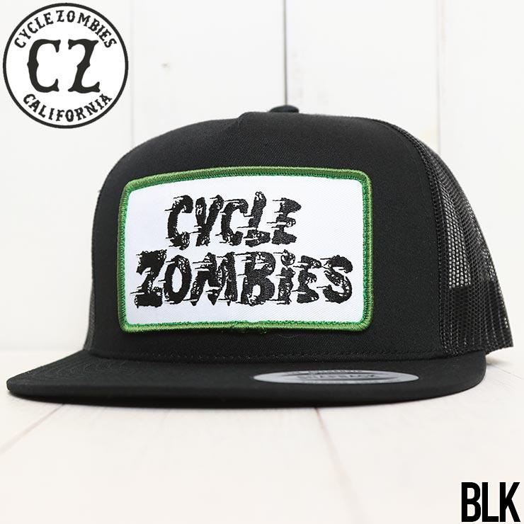 【送料無料】 Cycle Zombies サイクルゾンビーズ MPH HAT メッシュキャップ CZ-PTTH003