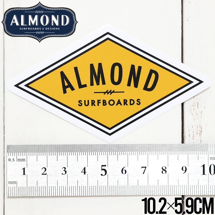 【送料無料】ALMOND SURF アーモンドサーフ STICKER ステッカー #1