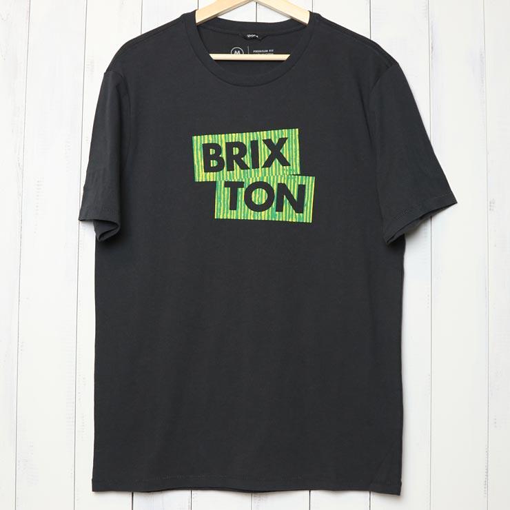 [クリックポスト対応] BRIXTON ブリクストン TEAM II S/S PREMIUM TEE 半袖Tシャツ 16020