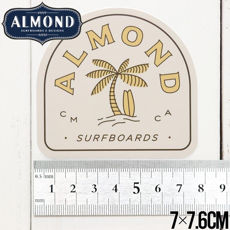【送料無料】ALMOND SURF アーモンドサーフ STICKER ステッカー #3
