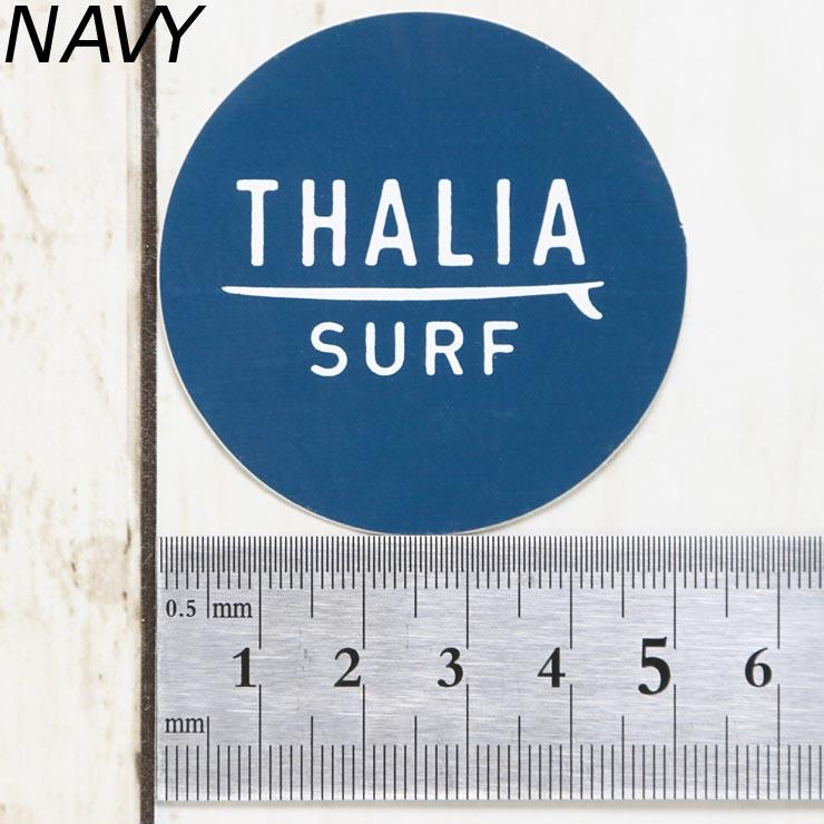 [クリックポスト対応] THALIA SURF タリアサーフ DOT SMALL STICKER ステッカー小 BLACK