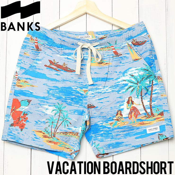 [クリックポスト対応] BANKS バンクス VACATION BOARDSHORT ボードショーツ BS0178
