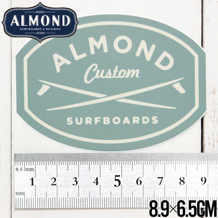【送料無料】ALMOND SURF アーモンドサーフ STICKER ステッカー #4