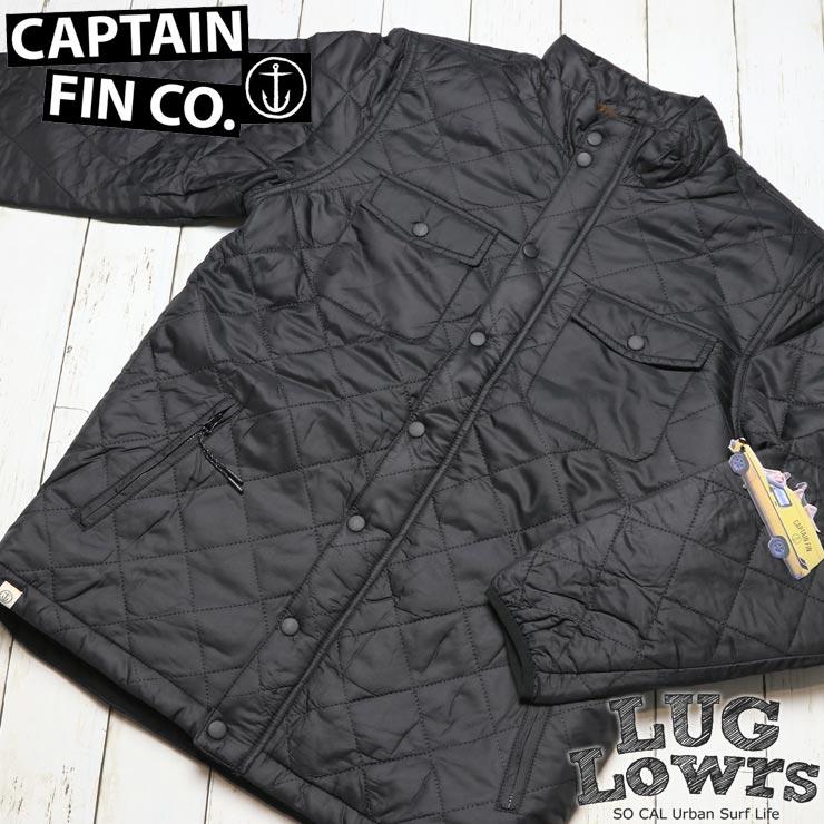 CAPTAIN FIN キャプテンフィン SEMI PUFF JACKET キルティングジャケット CFM0731600