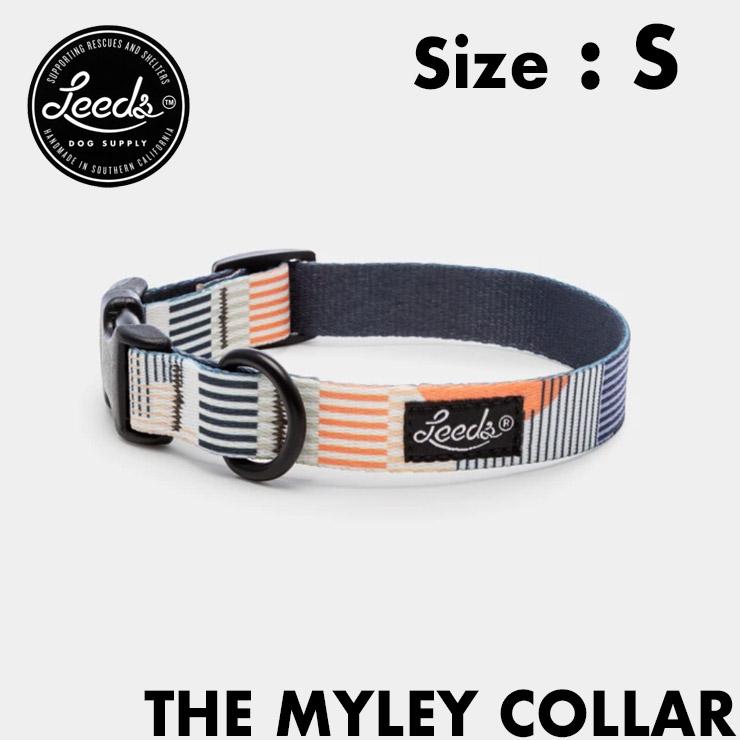 [クリックポスト対応] Leeds Dog Supply リーズドッグサプライ COLLOR 首輪 MYLEY Sサイズ
