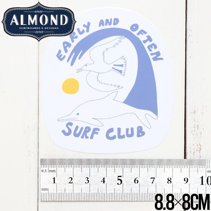 【送料無料】ALMOND SURF アーモンドサーフ STICKER ステッカー #5