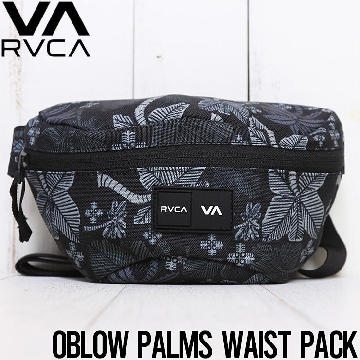 [クリックポスト対応] RVCA ルーカ OBLOW PALMS WAIST PACK ヒップバッグ ボディバッグ MATV4ROP