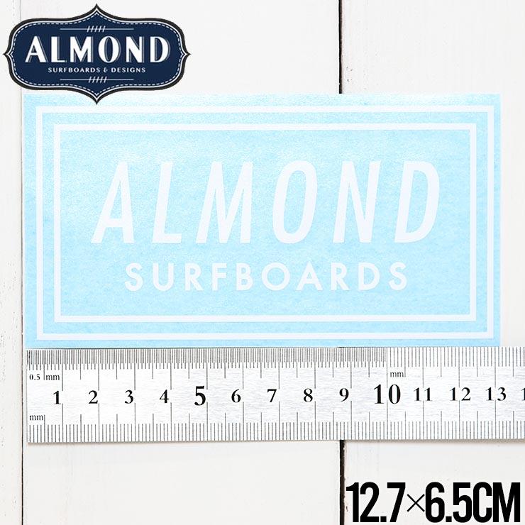 【送料無料】ALMOND SURF アーモンドサーフ STICKER ステッカー #6