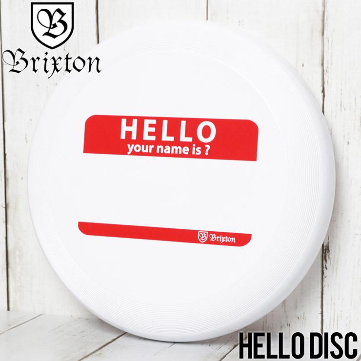 BRIXTON ブリクストン HELLO DISC フリスビー 05225