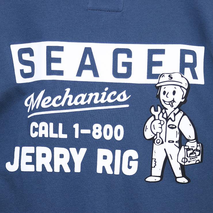 【送料無料】SEAGER シーガー JERRY RIG S/S TEE 半袖Tシャツ