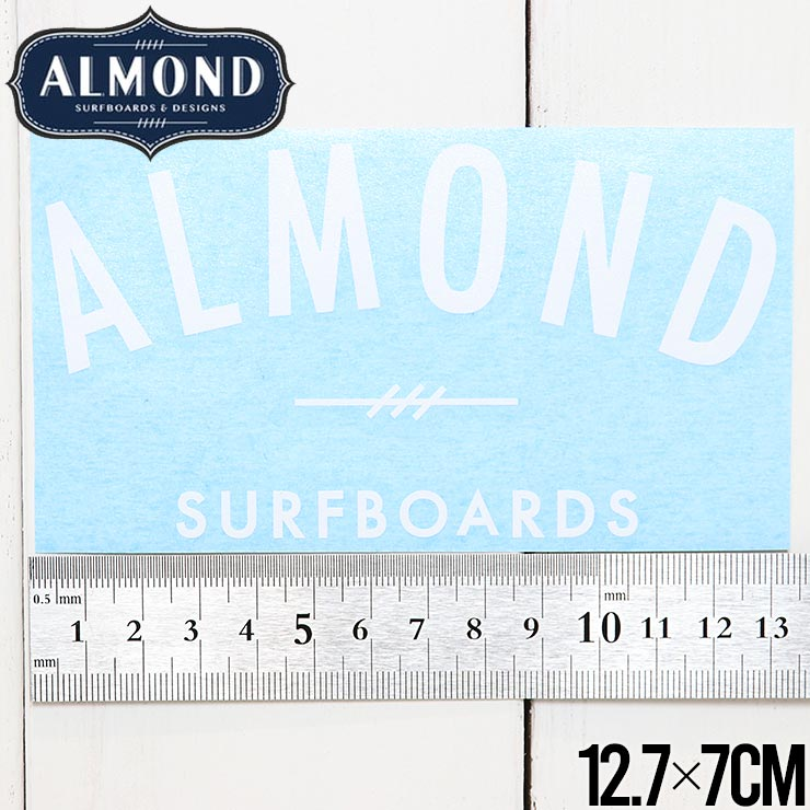 【送料無料】ALMOND SURF アーモンドサーフ STICKER ステッカー #7