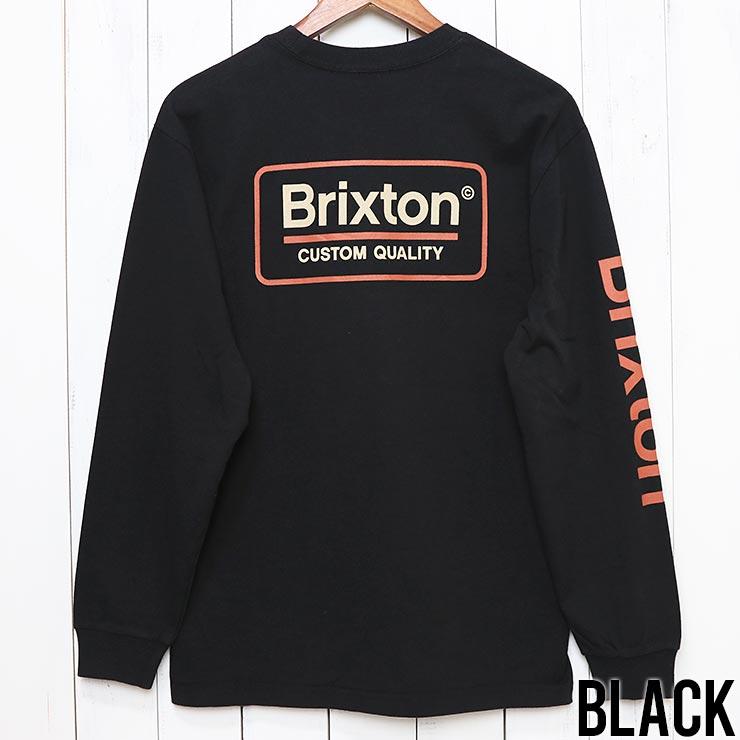 [クリックポスト対応] BRIXTON ブリクストン PALMER II L/S TEE ロンT 16078