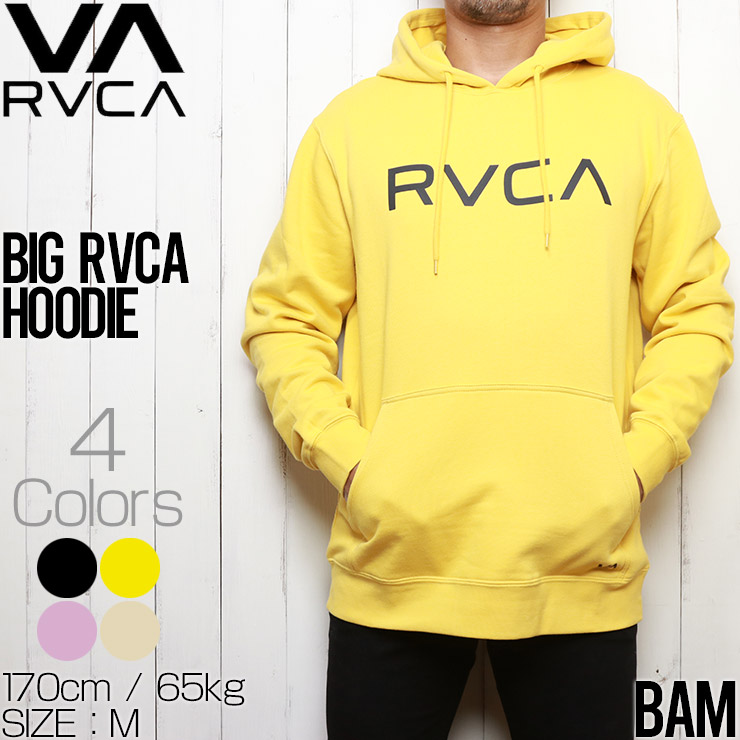 RVCA ルーカ BIG RVCA HOODIE プルオーバーパーカー フーディ M6023RBR