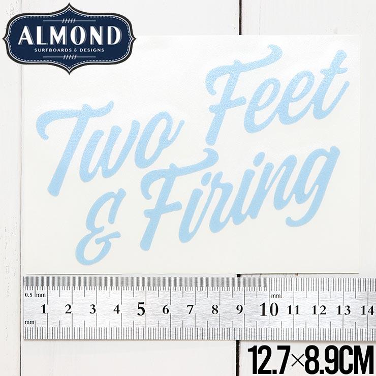 【送料無料】ALMOND SURF アーモンドサーフ STICKER ステッカー #8