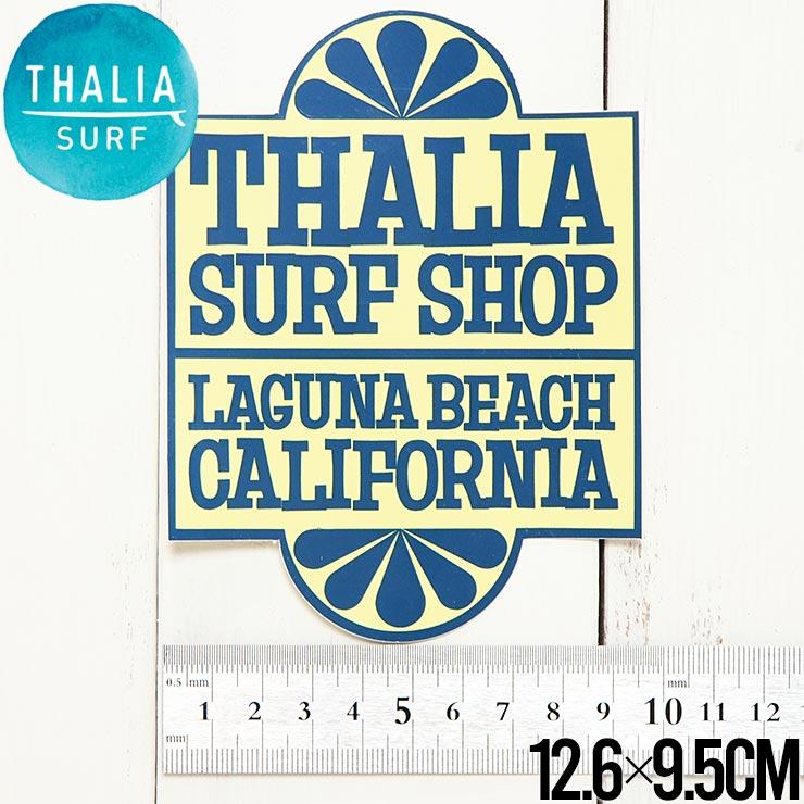 """【送料無料】 THALIA SURF タリアサーフ THALIA NBC LARGE 5"""" STICKER ステッカー シール"""