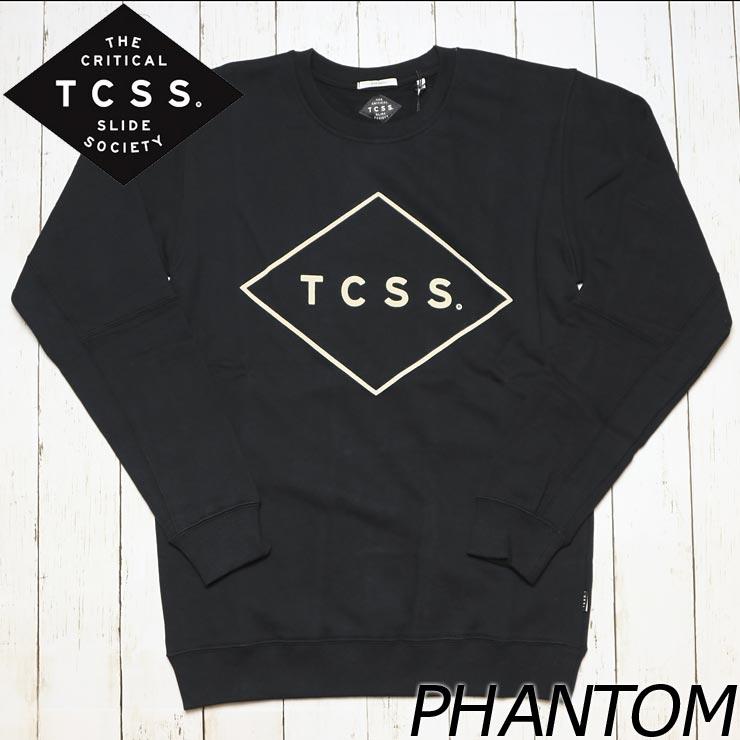 TCSS ティーシーエスエス STANDARD CREW スウェットトレーナー SWF1704