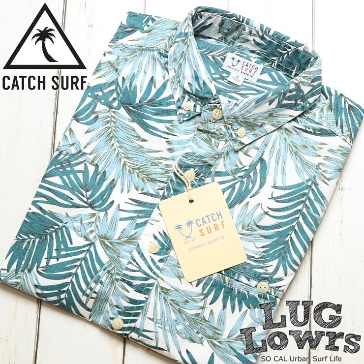 [クリックポスト対応] CATCH SURF キャッチサーフ MEL S/S WOVEN SHIRT 半袖シャツ A8WVN013
