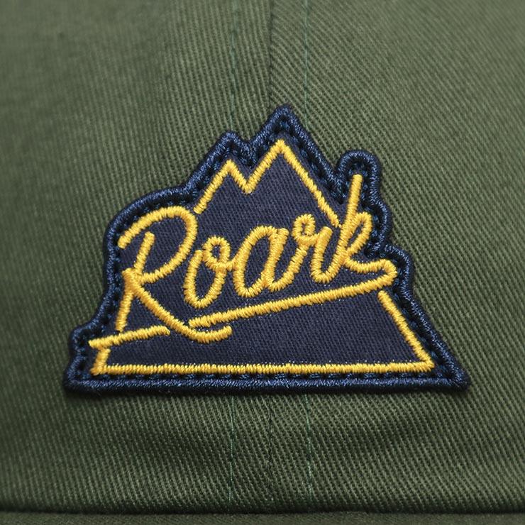 【送料無料】 THE ROARK REVIVAL ロアークリバイバル PEAKING HAT スナップバックキャップ RH436