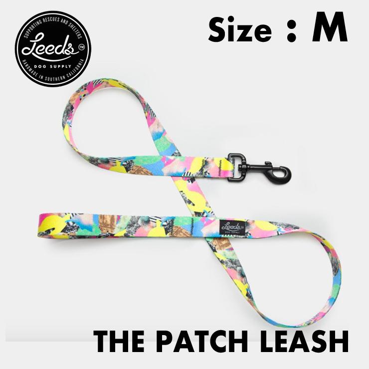 [クリックポスト対応] Leeds Dog Supply リーズドッグサプライ Lead リード PATCH Mサイズ