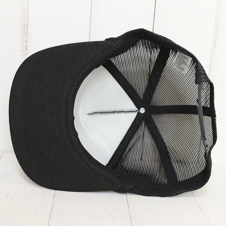【送料無料】 RVCA ルーカ RVCA FOAMY TRUCKER HAT メッシュキャップ MAHW1RFT BLK