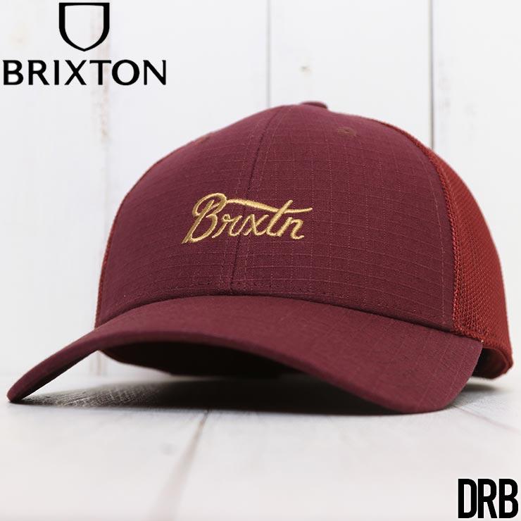 【送料無料】 BRIXTON ブリクストン STITH X MESH CAP メッシュキャップ トラッカーハット 10644 [FB]