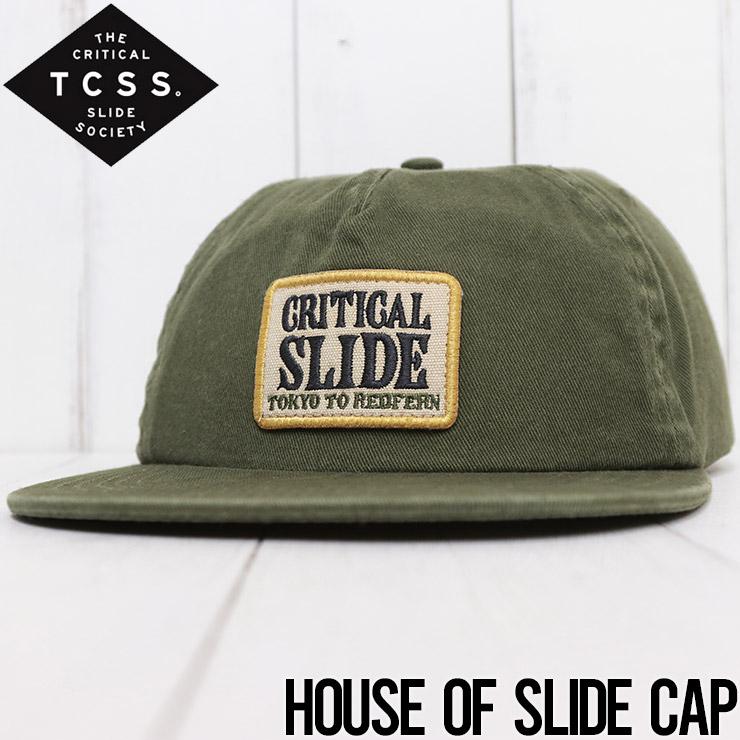 【送料無料】 TCSS ティーシーエスエス HOUSE OF SLIDE TRUCKER スナップバックキャップ HW2026