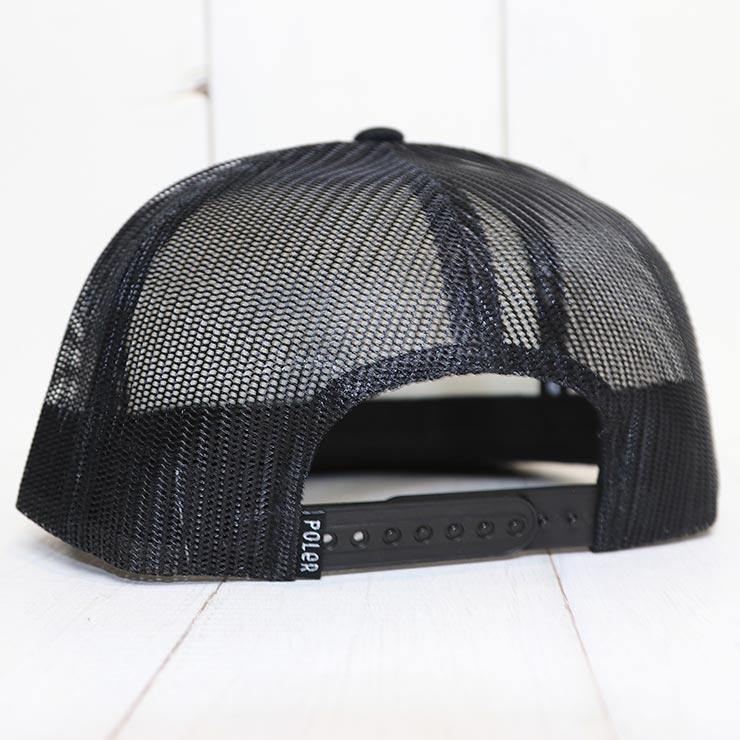 【送料無料】 POLeR ポーラー SUMMIT TRUCKER HAT メッシュキャッップ スナップバックキャップ 212ACU7401