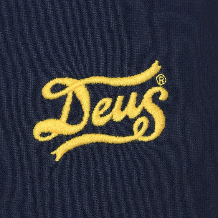 [クリックポスト対応] Deus Ex Machina デウスエクスマキナ FLAGGED HENLEY L/S TEE ロングスリーブTEE DMP91760