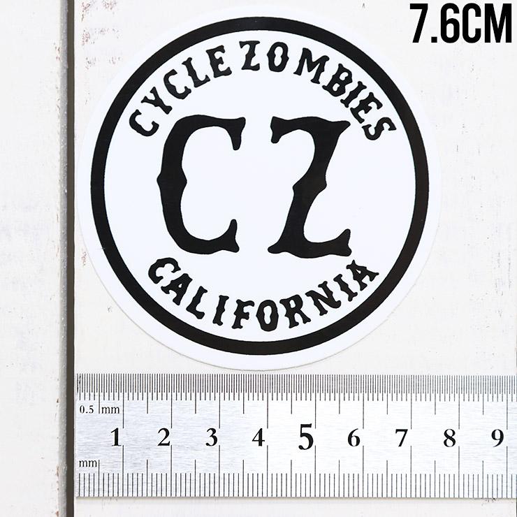 [クリックポスト対応] Cycle Zombies サイクルゾンビーズ CZ STICKER ステッカー CZ-STK-001 #1