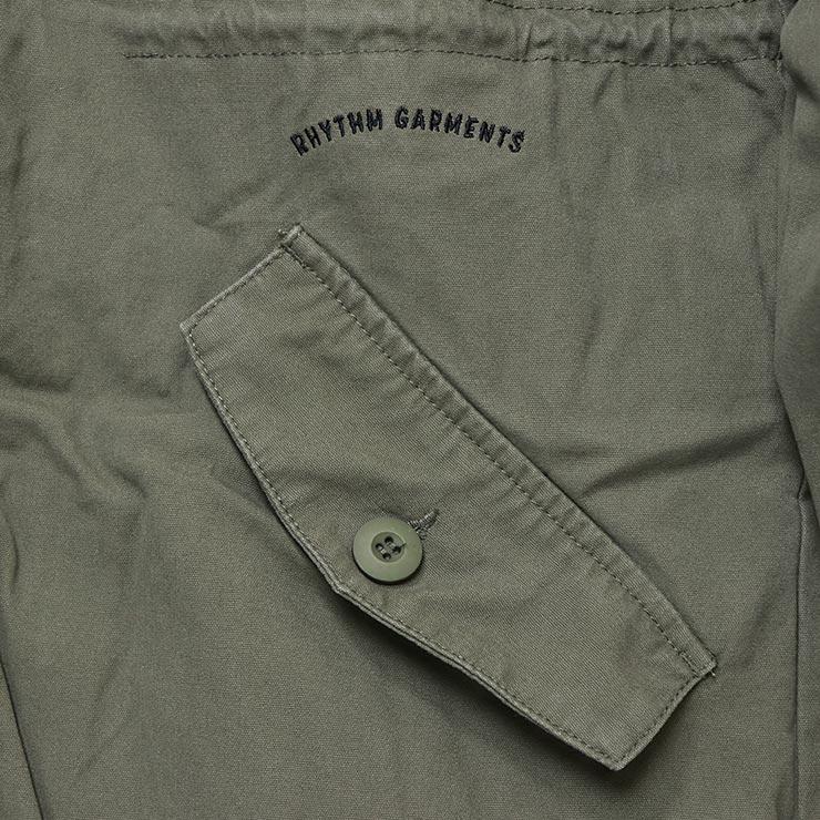 Rhythm リズム PASSENGER JACKET ミリタリージャケット CT020M-JK04 OLIVE
