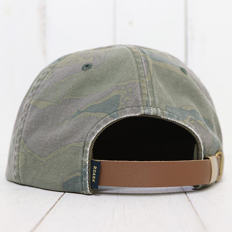 【送料無料】 THE ROARK REVIVAL ロアークリバイバル SAFE CAMP HAT ストラップバックキャップ RH435