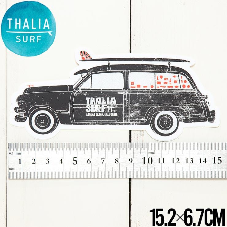 【送料無料】 THALIA SURF タリアサーフ WOODY STICKER ステッカー シール