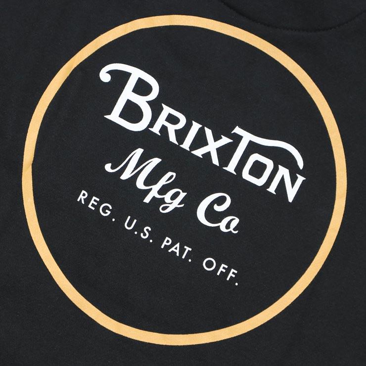 BRIXTON ブリクストン WHEELER HOOD プルオーバーパーカー 02416 BKYEL