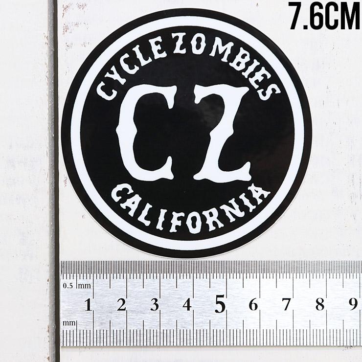[クリックポスト対応] Cycle Zombies サイクルゾンビーズ CZ STICKER ステッカー CZ-STK-001 #2