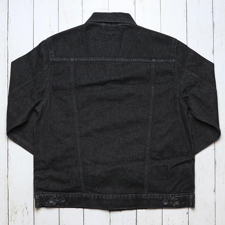 BRIXTON ブリクストン CABLE DENIM JACKET デニムジャケット ブルゾン 03199 BLACK