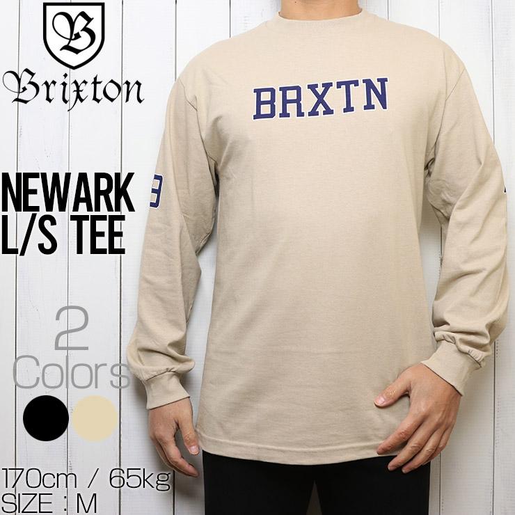 [クリックポスト対応] BRIXTON ブリクストン NEWARK L/S TEE ロングスリーブTEE 16147