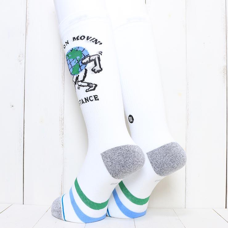 [クリックポスト対応] STANCE スタンス KEEP ON MOVIN SOCKS ソックス 靴下 A546A21MOV
