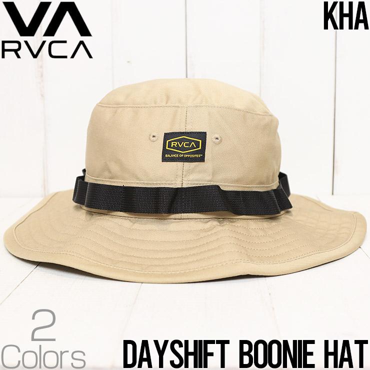 [クリックポスト対応]  RVCA ルーカ DAYSHIFT BOONIE HAT ハット ミリタリーハット AVYHA00138